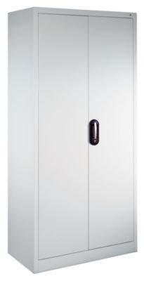 CP Armoire métallique de bureau à portes battantes - h x l 1950 x 1200 mm - profondeur 400 mm, gris / bleu - armoire armoire de bureau armoires armoires de bureau Armoire de bureau Armoire métallique Armoire universelle Armoire &agrav