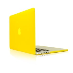 >>  TopCase Yellow Rubberized Hard Case Cover for Apple MacBook Pro 13.3