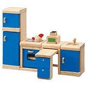 Plan Toys Kitchen Neo Dolls House Wooden Furniture Set