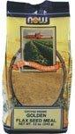 オーガニック・ゴールデンフラックスシードミール(フラックスシード粉) 12オンス (海外直送品)