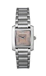 Emporio Armani AR5710 - Reloj para mujeres, correa de acero inoxidable color plateado