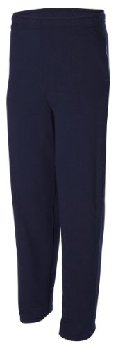 Fruit of the Loom 8 oz. Best? 50/50 Fleece Pants with Pockets - J NAVY - S 8