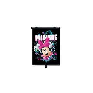 Minnie Mouse-General Purpose Car Roller Blind with Hooks and Suction Strong, Happy Travel MOT Ivonnoe PM
