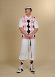 1930s Style Men's Pants Golf Knickers $65.00 AT vintagedancer.com