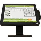 Logic Controls LE1015 15IN LCD FLAT RES TOUCH 1024X768 800:1 USB BLK SPKR