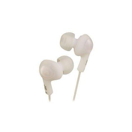 (Jvc) Gumy Plus Ear Bud Headphones Coconut White Hafx5