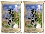 【精米】お米の稲田/旭川の米屋 稲田米穀店 北海道産 おぼろづき 5kg×2袋 白米 平成28年産