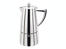 Stellar Art Deco 6 Cup Espresso Maker