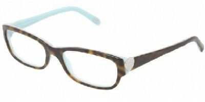 TIFFANY Eyeglasses TF 2065B 8134 Havana Blue