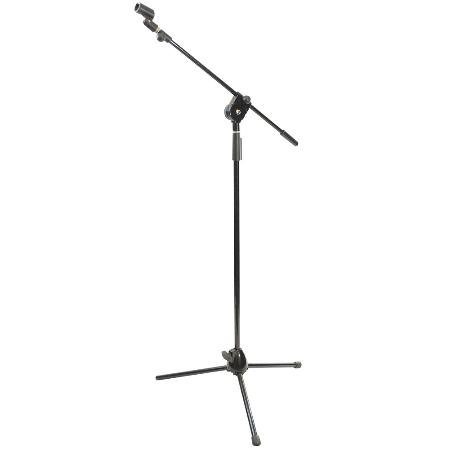 Tripod Microphone Stand With Extendable Boom