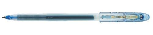 Pilot Begreen - Juego de bolígrafos roller de punta fina (10 unidades, 0,7 mm, tinta de gel azul), color azul