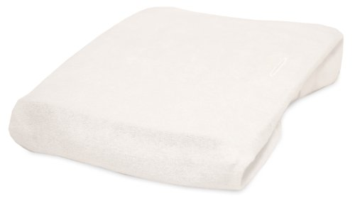 Rumble Tuff Bamboo Viscose Terry Changing Pad Cover, White