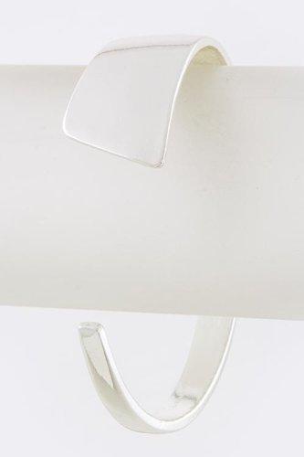 Karmas Canvas Narrow Wide Tip Bracelet (Silver) front-576747
