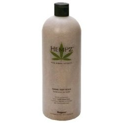 Hempz Herbal Exfoliator Scrub Sandalwood & Apple 33.8 Oz