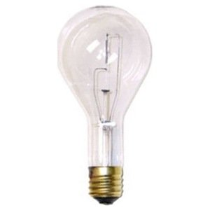 General Electric Lighting 300w 130v Mog Base Clear Incandescent Bulbs