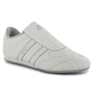 aad51ff5c5ab64 Slazenger Samurai Trainers Ladies White Silver 7 UK UK