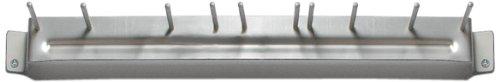 "Carlisle 4073500 Spectrum Aluminum Brush Rack, 17"" Length front-494740"
