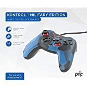 prif Kontrol 1 Wired Controller (Military Edition), Camo - PlayStation 3 (Color: Camo)