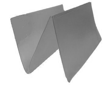 Set of 2 Clear Checkbook Protector Divider Inserts for Duplicate Checks (Check Inserts compare prices)