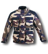 Men's HL-2899 Camouflage Duratex Motorcycle Jacket Sz XL