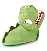 Dinosaur Design Boot Slippers