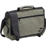 Swiss Gear 16&quot; Zinc Canvas Computer Notebook Briefcase