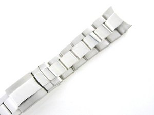Mens 18kw Gold Oyster Watch Band for Rolex Daytona 20mm