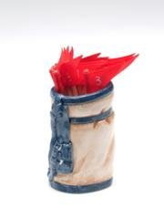Atd 41312 two tone golf bag design toothpick holder home garden kitchen dining kitchen - Toothpick holder for purse ...