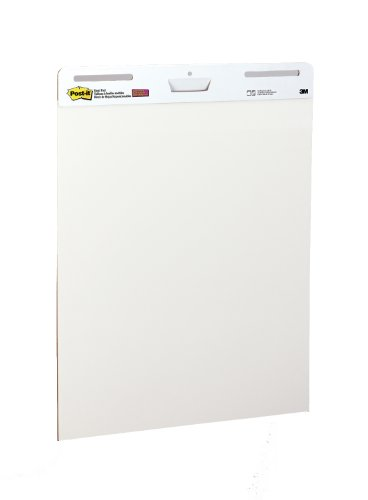 Post-it Easel Pad, 25 x 30-Inches, White, 30-Sheets/Pad