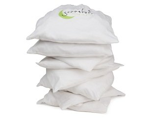 Greenbuds Organic Cotton Percale Cradle Sheet