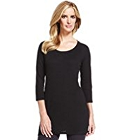 M&S Collection Ribbed Panelled Tunic