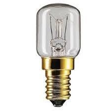 2 X Philips 25 Watt E14/ses Oven Lamp Light Bulb 300 Degrees - Small Screw Cap Fitting by Philips
