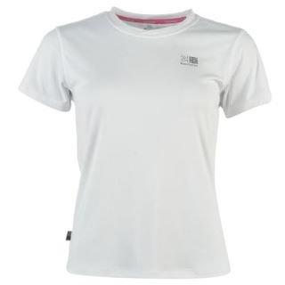 Karrimor Run Short Sleeve T Shirt Ladies White 8 (XS)