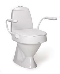 Amazon Com Etac Cloo Height Adjustable Raised Toilet Seat