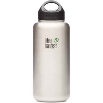 Klean Kanteen Wide Mouth Stainless Steel Water Bottle (12-Ounce) front-1023841