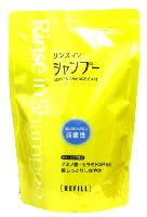 熊野油脂 ファーマクト リンスインシャンプー モイスト&ダメージケア 弱酸性 つめかえ用