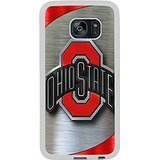 Ncaa Big Ten Conference Football Ohio State Buckeyes 9 White Shell Phone Case Fit For Samsung Galaxy S7 Edge,Beautiful Cover