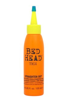 Tigi Straighten Out 98% Humidity Defying Straightening Cream 120Ml