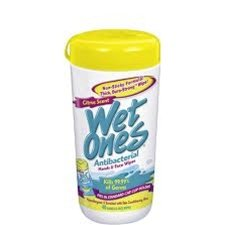 Wet Ones Antibacterial Hand Wipes Citrus Canister - 40 Count, 1 Pack front-645777