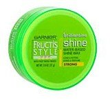 Garnier Fructis Style Brilliantine Water-Based Shine Wax, Strong - 2 Oz