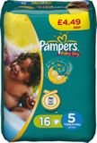 Pampers Baby Dry Junior Pm 16'S