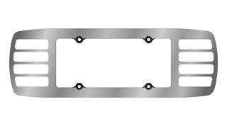 C5 Acrylic License Plate Louver (License Plate Louver compare prices)