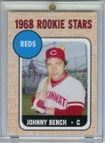 2006 Topps Johnny Bench Rookie Of The Week Baseball Card Mint Condition Shipped In Protective