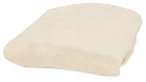 Rumble Tuff Bamboo Viscose Terry Changing Pad Cover, Ecru