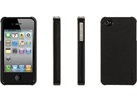 Elan Form Leather Case for iPhone 4 - Black