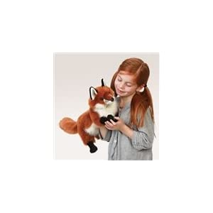Folkmanis Puppet Small Red Fox
