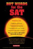 img - for Hot Words for the SAT [2nd Edition] (Paperback) book / textbook / text book