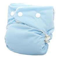 Softbums One Size Cloth Diaper Echo Shell With Snaps (Snowcone)