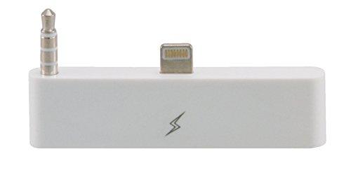 Audio adapteur pour connecter 30 vers 8 pin pour iPhone 6 Plus / 6s Plus / idéal pour la transmission audio / en blanc de TW-Handy