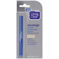 Clean & Clear Advantaged Popped Pimple Relief, Gel Pen, On-The-Go